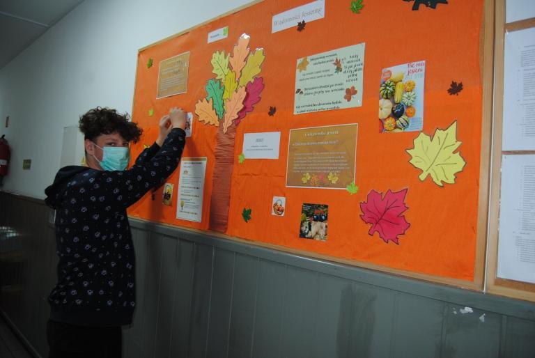 Jesiennie w Ośrodku Szkolenia i Wychowania OHP w Szamocinie