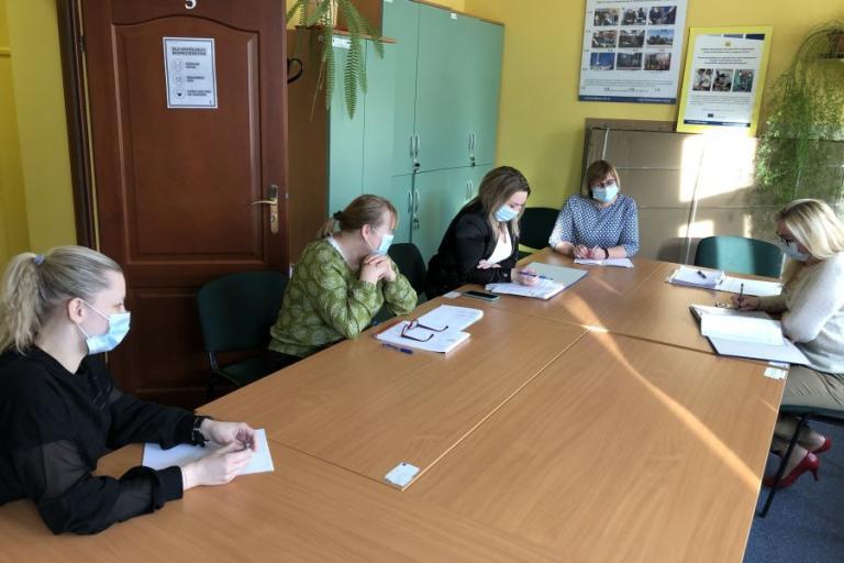 Suwałki: Posiedzenie zespołu wsparcia uczestników OHP
