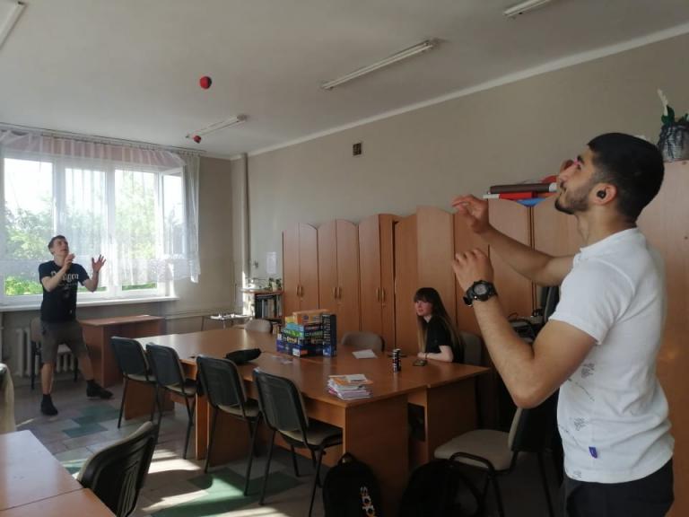Żonglujemy, Gramy, Wycinamy w Jaworznie