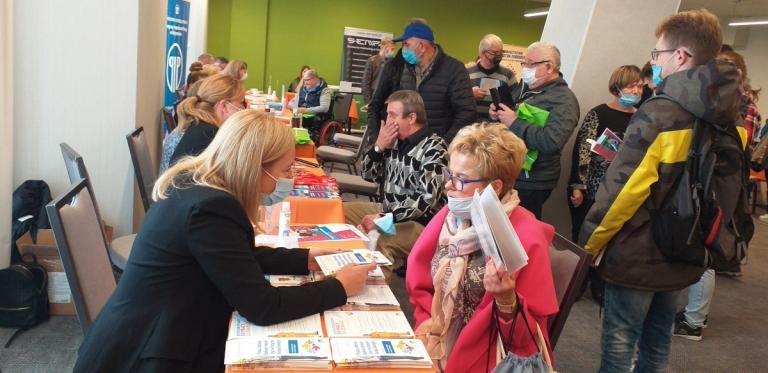 Białystok: Stoisko EURES na Targach Pracy dla Osób z Niepełnosprawnościami