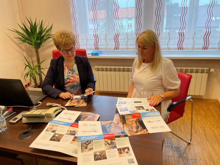 Spotkanie pośrednika pracy z Gostynia z Zastępcą Burmistrza Borku Wielkopolskiego