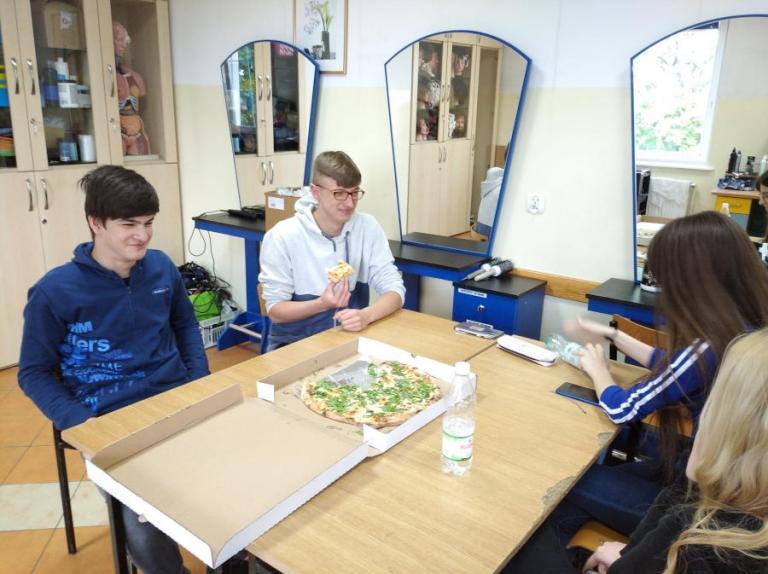 Łomża: Spotkanie integracyjne przy pizzy
