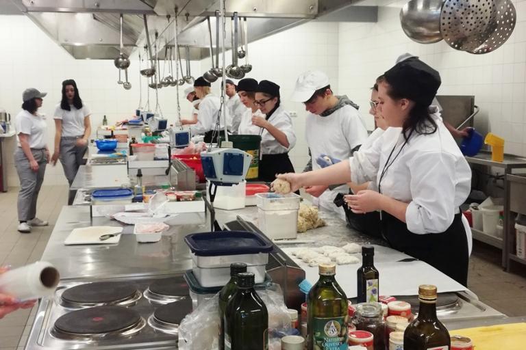 Wasilków: Kucharze na półmetku stażu w Niemczech