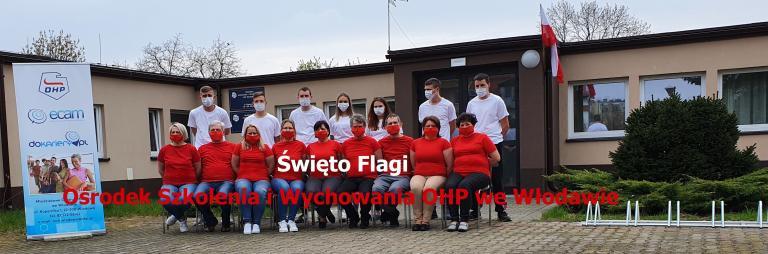 Dzień Flagi w Ośrodku OHP we Włodawie