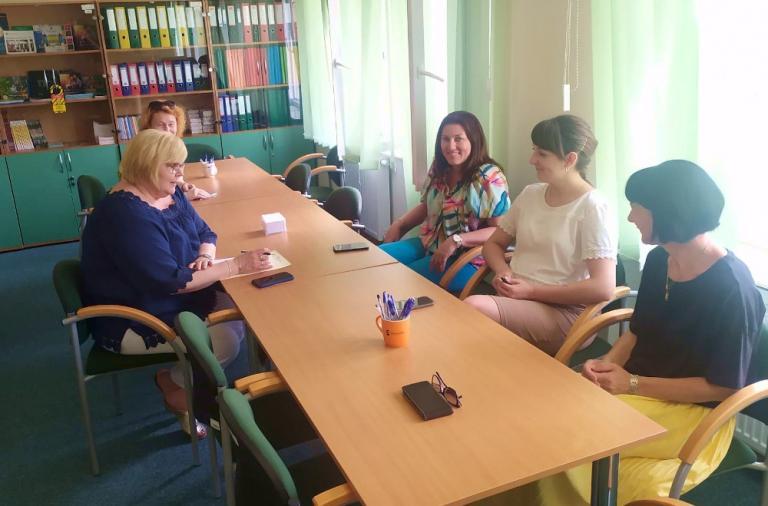Zambrów: Posiedzenie zespołu wsparcia uczestników OHP