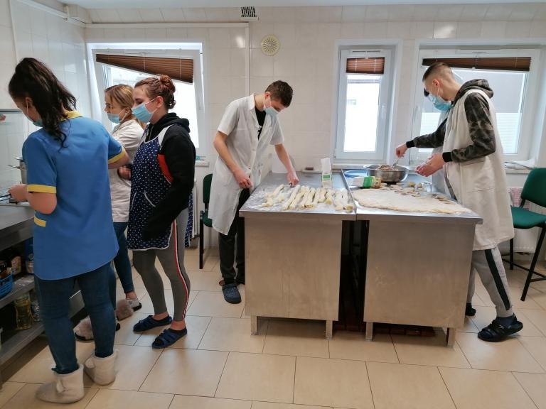 Włodawa: Kucharze w akcji
