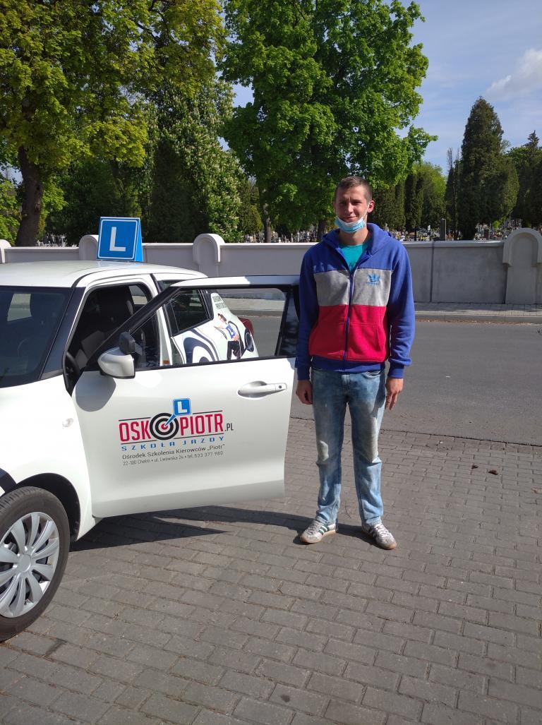 W Chełmie trwa końcowy etap kursu prawa jazdy kat. B