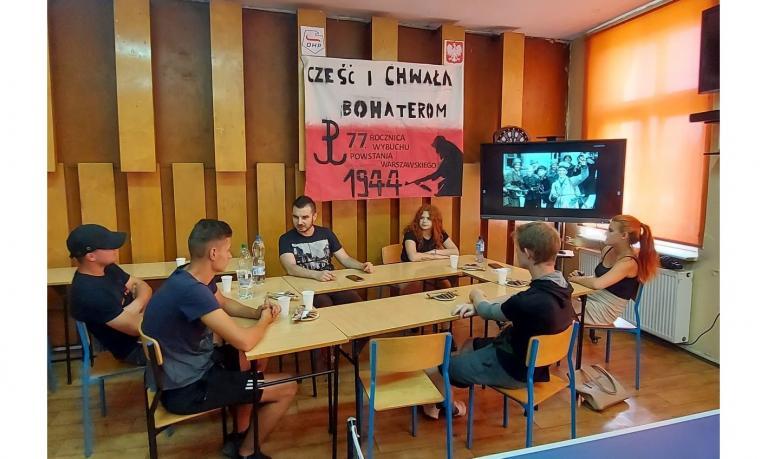 Hufiec Pracy w Krotoszynie pamięta o bohaterskich powstańcach