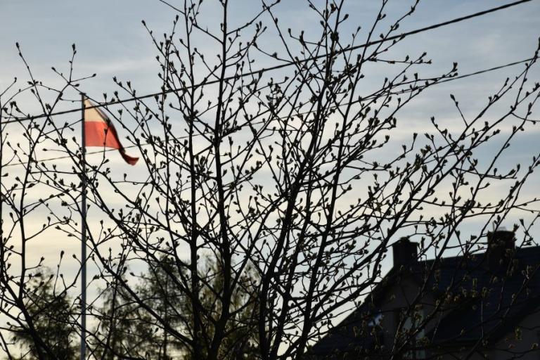 Łomża: Flaga Polski - symbol wolności