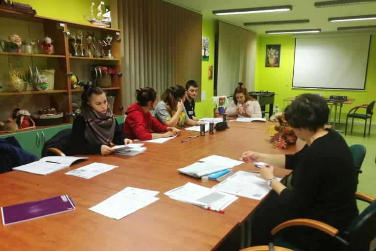 Zambrów: Kurs języka niemieckiego przed wyjazdem na staż
