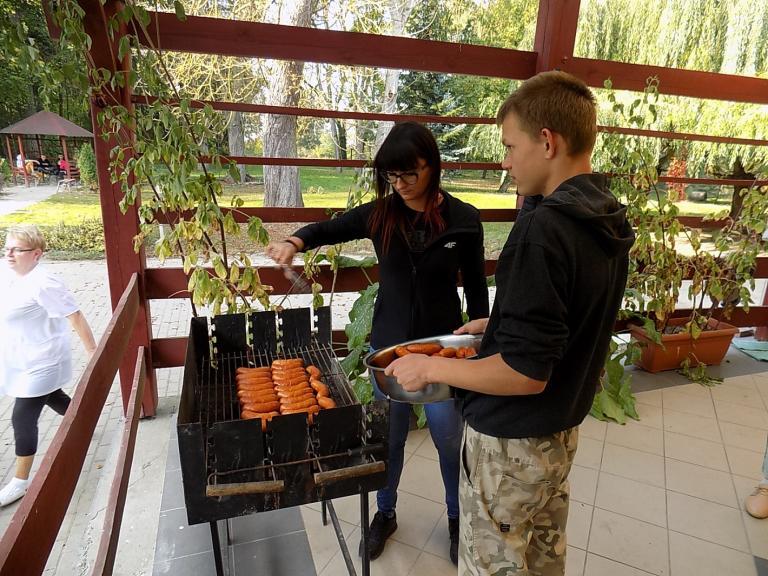 Jesienne grillowanie w OSiW w Próchnowie