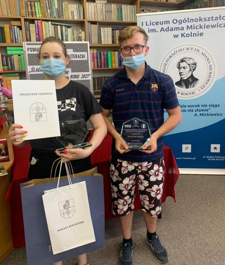 Sukces młodzieży z Kolna w Powiatowym Konkursie Literackim