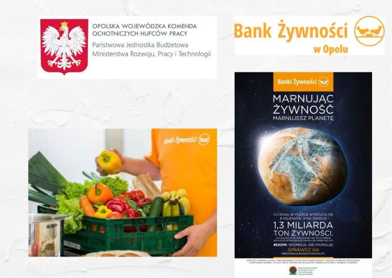 Inicjatywa Komendanta Wojewódzkiego OWK OHP – nieodpłatne przekazywanie żywności dla uczestników OWK oraz ich rodzin.
