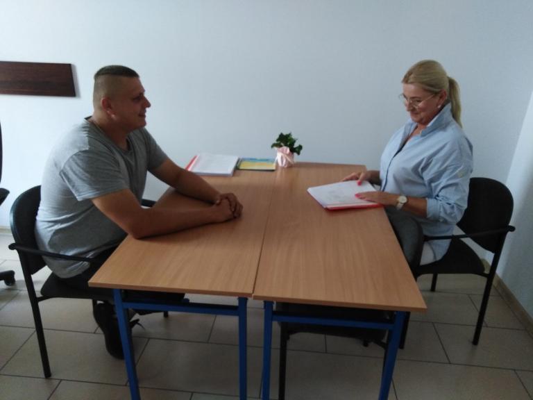 Konsultacje dla absolwentów Hufca Pracy w Gostyniu