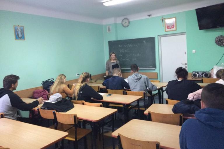 Kolno: Kurs językowy dla osób zakwalifikowanych na staż zawodowy