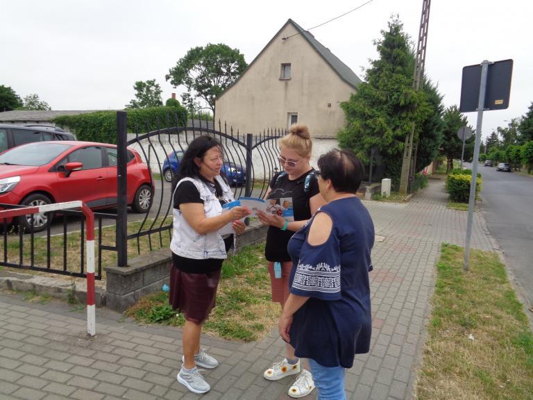 Promocja Ochotniczych Hufców Pracy na terenie miasta Kłecka