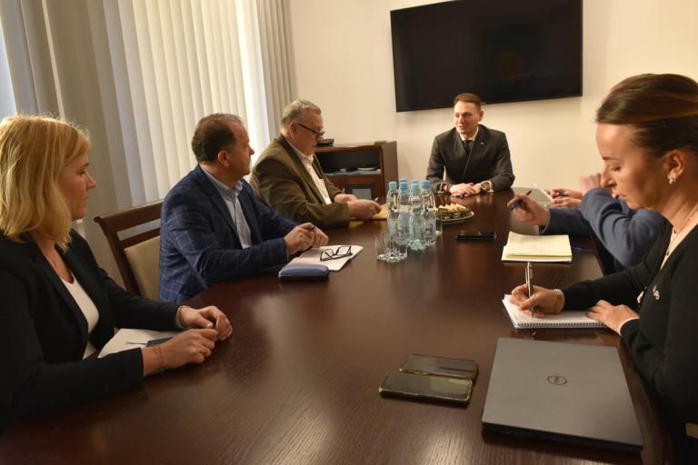 Spotkanie z przedstawicielami Zarządu Krajowego OZZP OHP