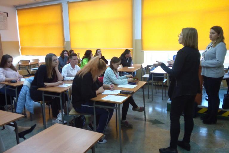 Białystok: Zawodowy staż w Niemczech - spotkanie organizacyjne