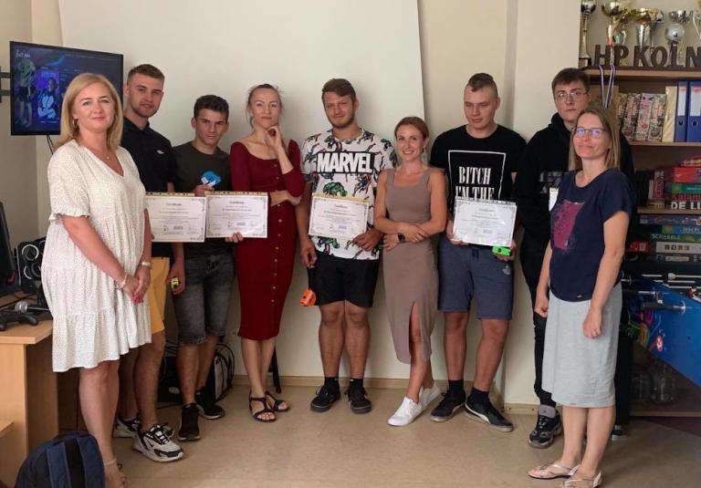 Kolno: Spotkanie z uczestnikami stażu zawodowego