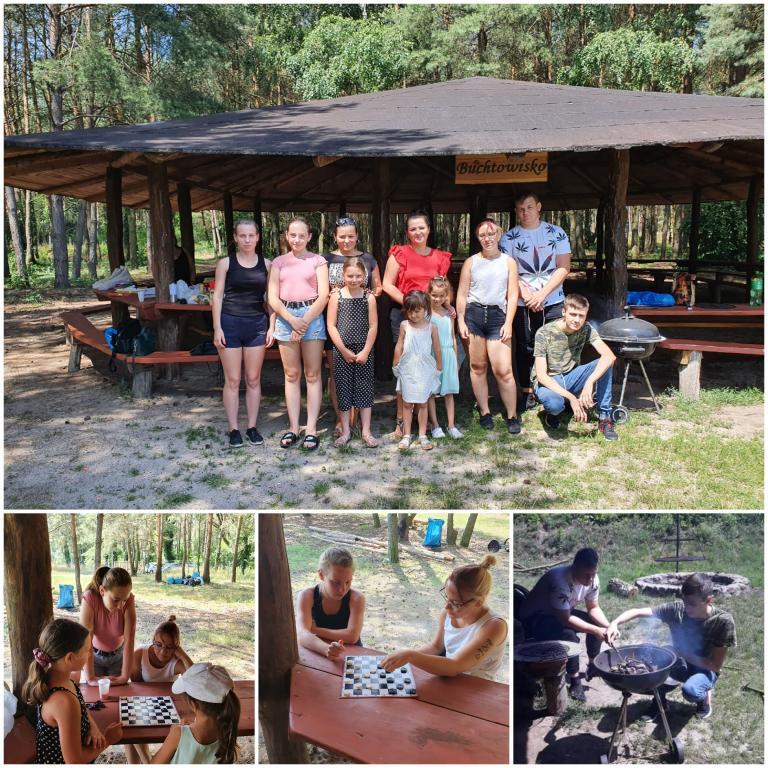 Piknik wakacyjny Hufca Pracy w Górze -13.07.2021