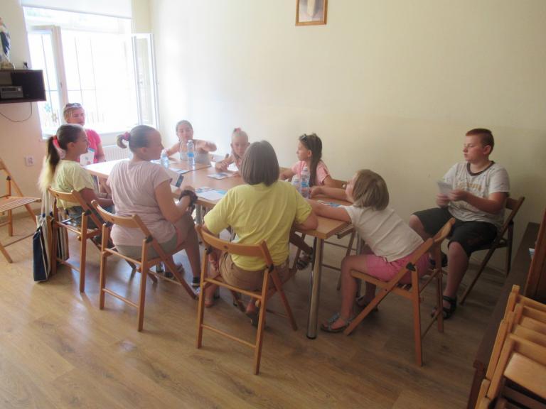 Akcja promocyjna w Świetlicy Boże Podwórko w Ostrowie Wielkopolskim