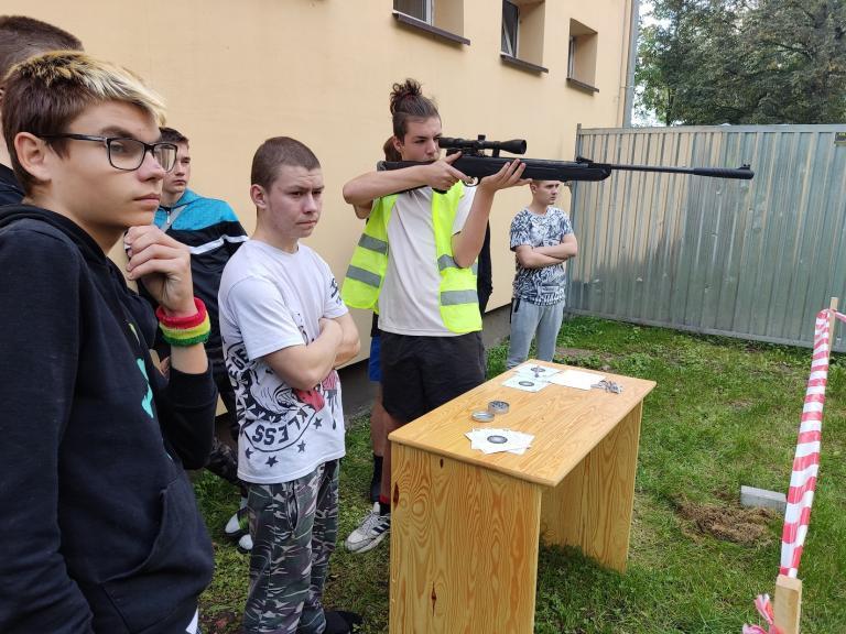 Zawody strzeleckie w Niechanowie