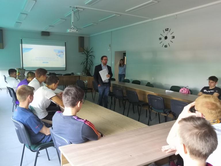 #InternetSafety- pierwsze zajęcia w Jastrzębiu-Zdroju