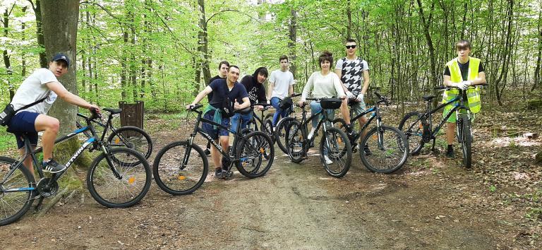 Wycieczka rowerowa w Łobzie