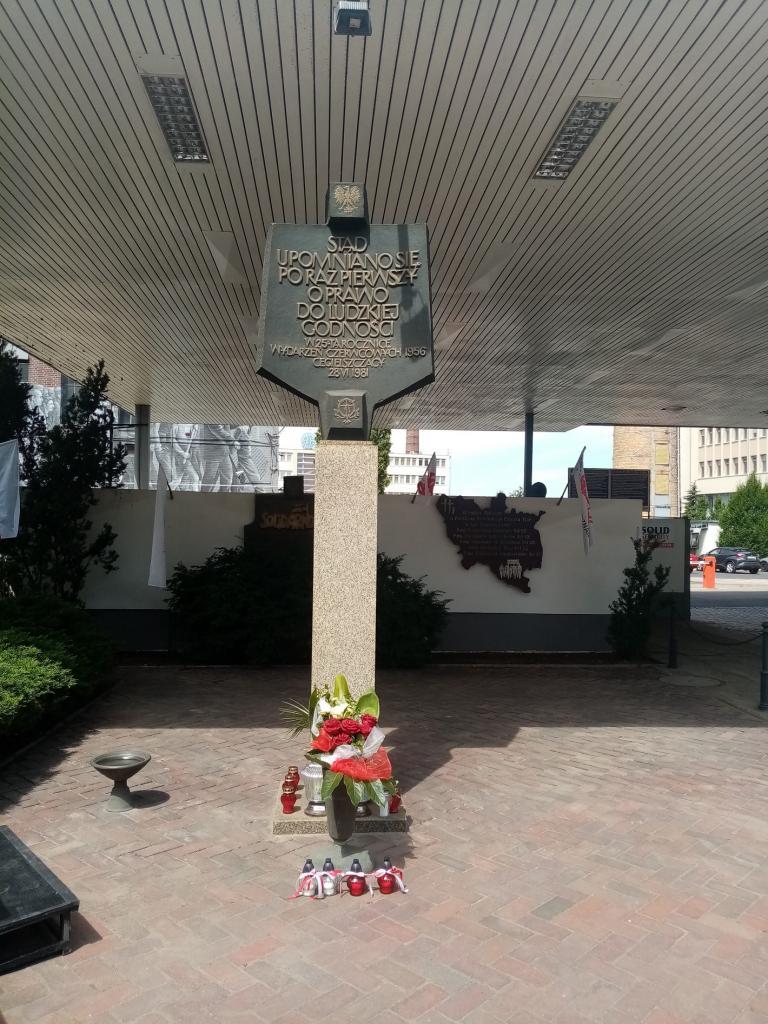Wspomnienie 65. rocznicy Poznańskiego Czerwca '56 w Hufcu Pracy w Poznaniu