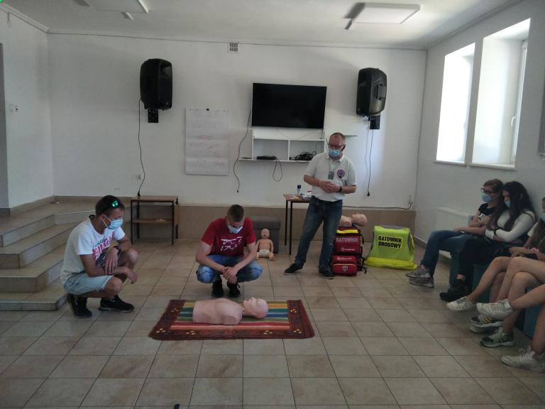 Zamość: Zajęcia z pierwszej pomocy przedmedycznej