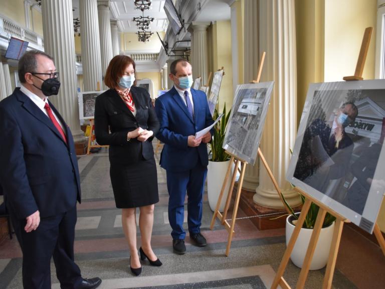 Wystawa w Podkarpackim Urzędzie Wojewódzkim