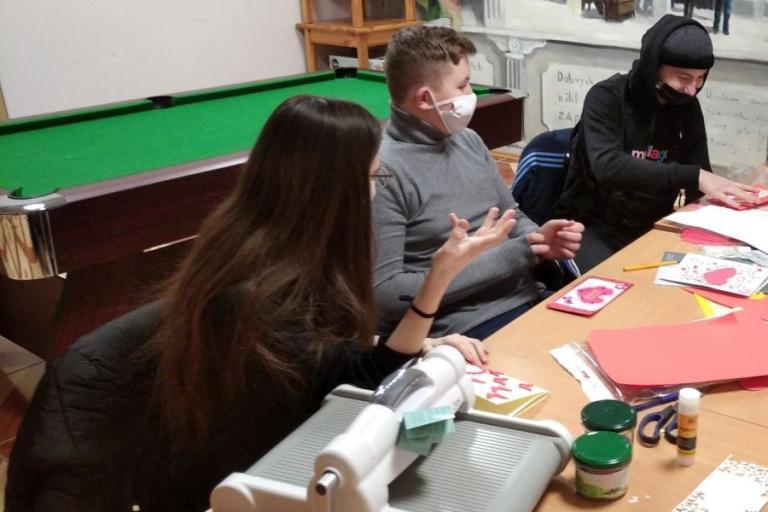 Łomża: Warsztaty scrapbookingu w oczekiwaniu na Walentynki