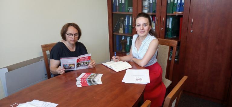 Promocja usług Ochotniczych Hufców Pracy w Pleszewie
