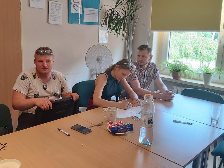 Akcja Lato 2021 – odwiedziny absolwentów w Ostrzeszowie