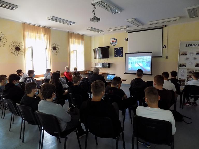 Nowi uczestnicy OHP w Ośrodku Szkolenia i Wychowania w Próchnowie