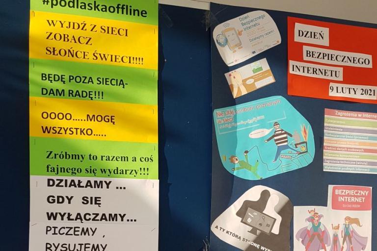 Białystok: #podlaskaoffline – Akcja w ramach Dnia Bezpiecznego Internetu