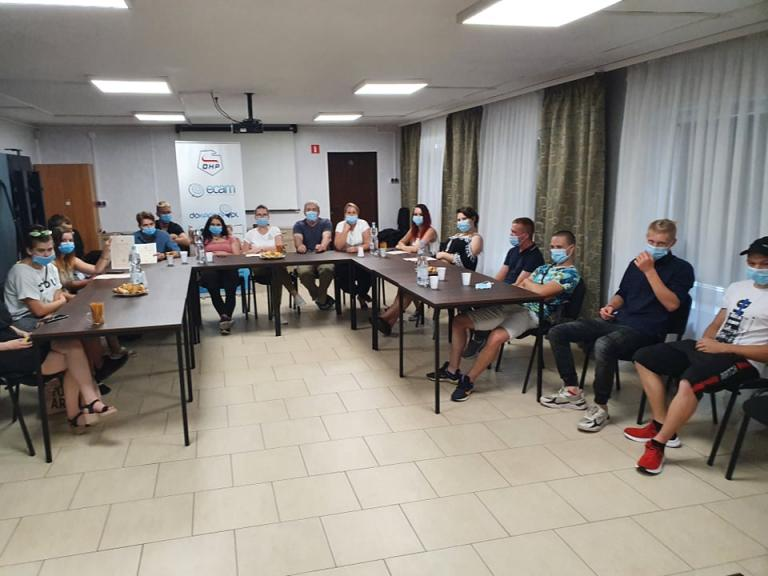 Włodawa: Spotkanie z uczestnikami kończącymi kształcenie i absolwentami Ośrodka OHP