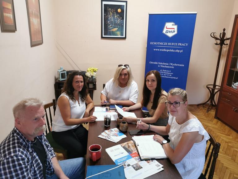 Zespół Wsparcia Uczestników OHP w Niechanowie