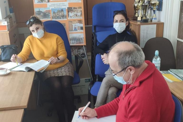 Augustów: Posiedzenie zespołu wsparcia uczestników OHP