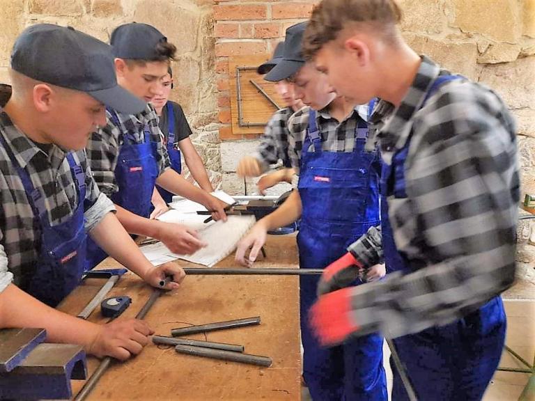 Młodzi kucharze i mechanicy na stażu zawodowym w Niemczech