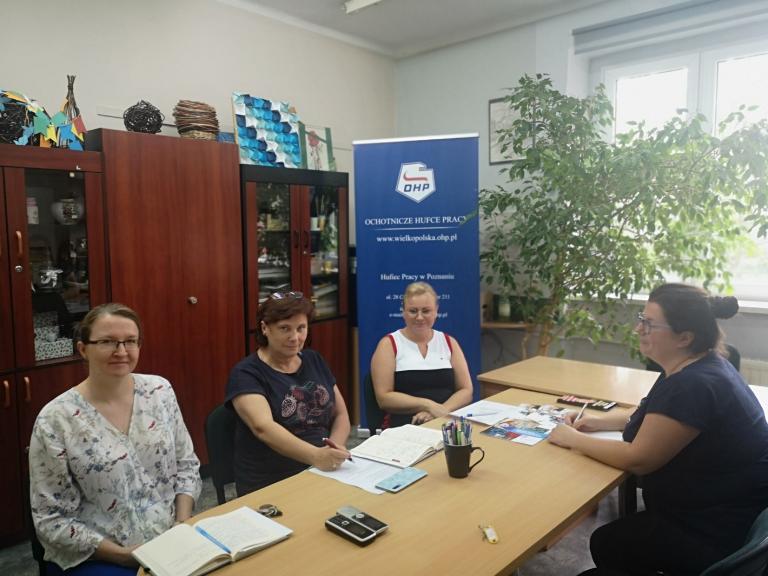 Spotkanie Zespołu Wsparcia Uczestników w Poznaniu