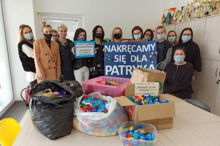 Białystok: Pozytywnie nakręceni dla Patryka
