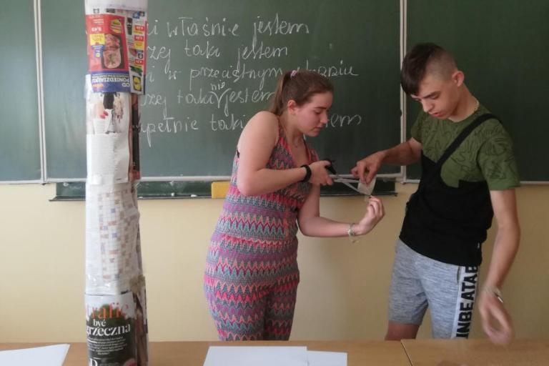 Zambrów: Zajęcia integracyjne dla młodzieży