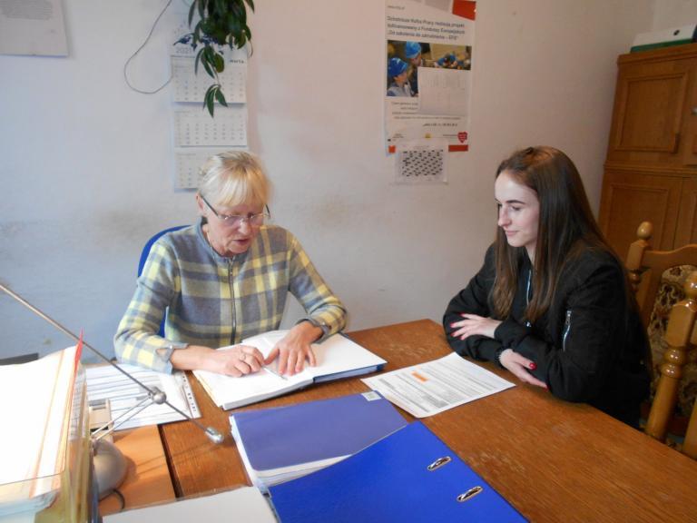 Konsultacje z absolwentami w CEiPM w Kaliszu