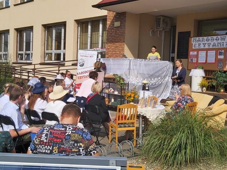 Narodowe Czytanie w Hufcu Pracy w Ostrzeszowie