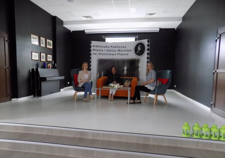 Spotkanie wolsztyńskiej kadry OHP z Dyrektor Biblioteki Publicznej