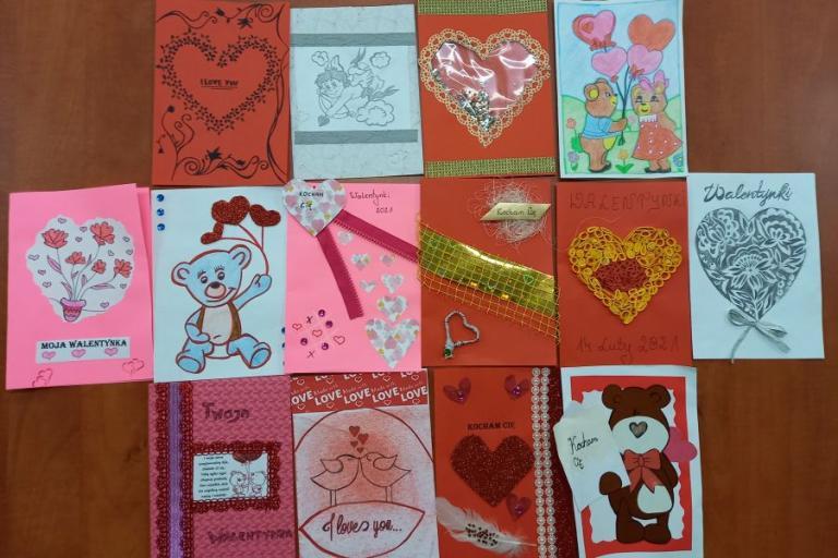 Grajewo: Od serca dla serca – Hufcowy Konkurs na Kartkę Walentynkową 2021