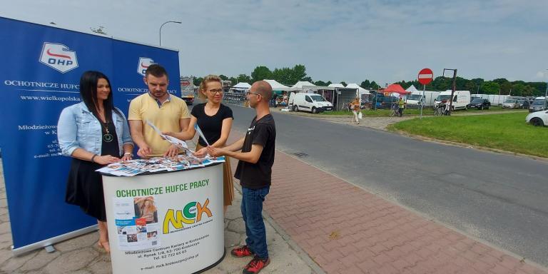 Rekrutacja na targowisku miejskim w Krotoszynie
