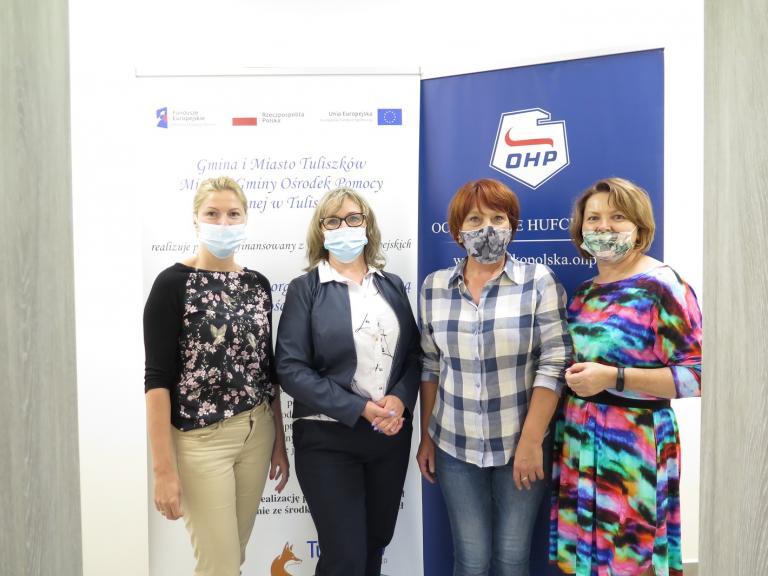Spotkanie w Miejsko-Gminnym Ośrodku Pomocy Społecznej w Tuliszkowie