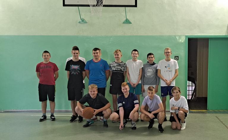 Turniej Koszykówki w Hufcu Pracy 15-42 Września